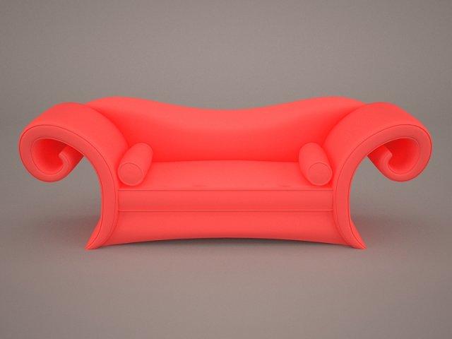 Loveseat 3D Model