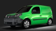 Renault Kangoo Van L2 2017 3D Model