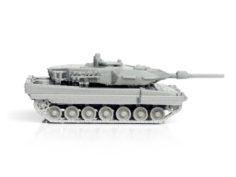 Leopard Tank Simple Model Kit 3D Print Model