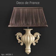 Deco de France sconce 3D Model