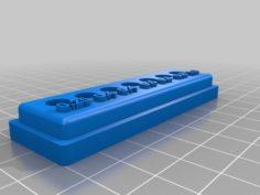 Nozzle holder (box) 3D Print Model