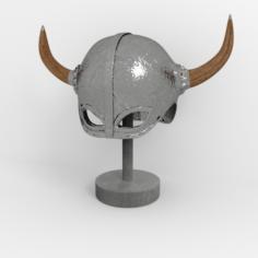 Helmet Medieval 2 3D Model