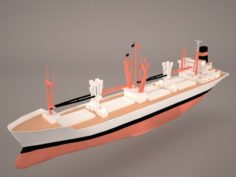 Bahrain Ship 3D Model