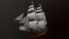 StPavel battleship 3D Model