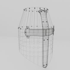 Helmet Medieval 4 3D Model