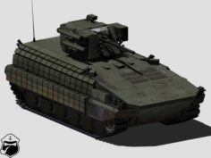 BMP-64 with BM-7 armoured personnel carrier 3D Model