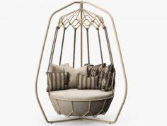 Roberti Rattan – Gravity swing sofa 3D model 3D Model
