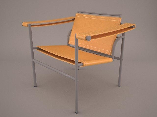 Le Corbusier 3D Model