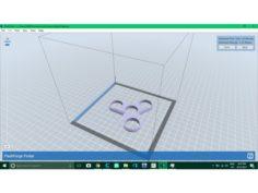 three ray fidget 3D Print Model