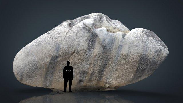 Rock 23 3D Model