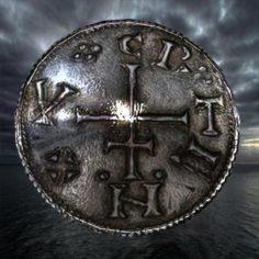 Ancient viking coin 1 3D Model