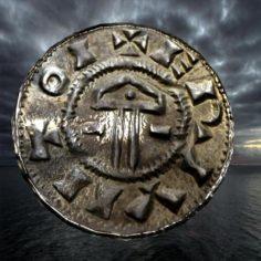 Ancient viking coin 3 3D Model