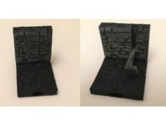 Openlock Wall with Hidden Club  3D Print Model