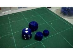 The Dramatic Yet Fair(er) D6 3D Print Model