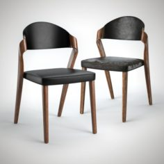 Designer Chair with new and old textures 3D Model