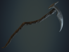 Scythe of the Reaper 3D Model
