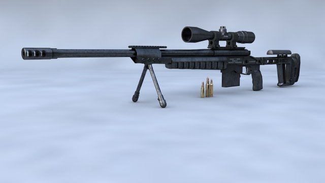 ORSIS T-5000 3D Model