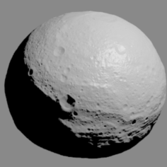 Asteroid Vesta 3D Print Model