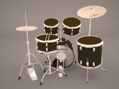 Large Drum Kit 3D Model