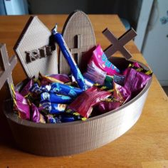 candy box for halloween 3D Print Model