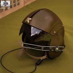 Vietnam SPH-4 Helicopter helmet 3D Model