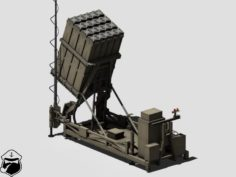 Iron dome launcher 3D Model