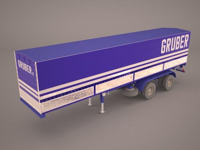 Schmitz Cargobull Trailer 3D Model