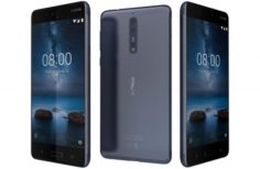 Nokia 8 Polished Blue 3D Model