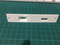 SCSI2SD Mac SE Bracket 3D Print Model