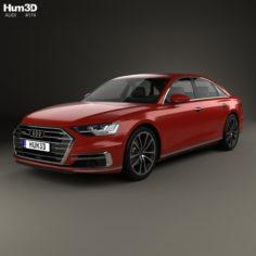 Audi A8 (D5) 2017 3D Model