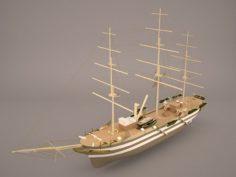 Belfaster Boat 3D Model
