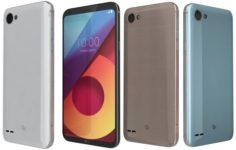 LG Q6 All Colors 3D Model