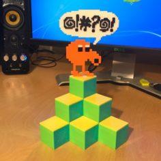 Q-Bert Desk Tidy 3D Print Model