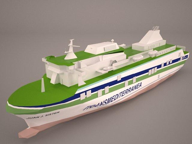 SISTER Ship 3D Model