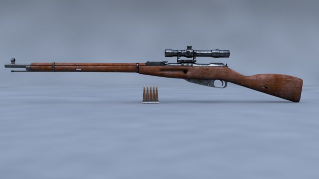 Mosin Nagant 3D Model