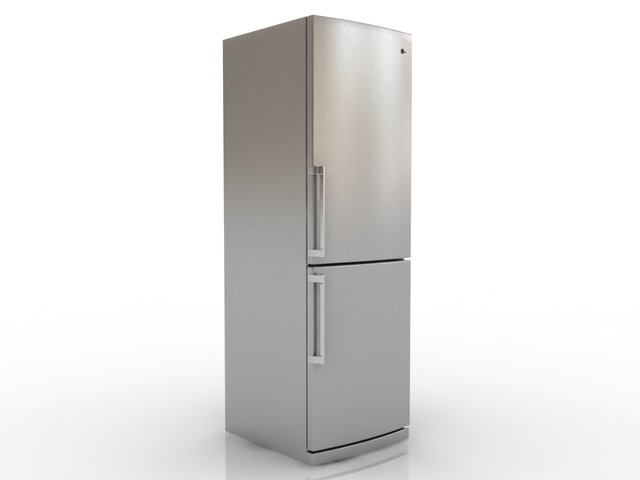 Fridge 3ds max 3D Model