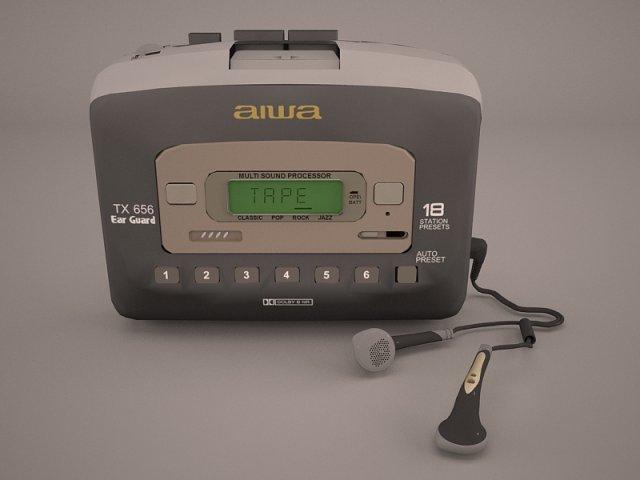 Sport Walkman 3D Model