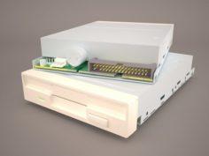 Floppy disk drive 3D Model