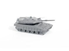 Merkava Tank Simple Model Kit 3D Print Model