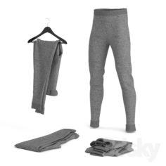 Moleton Pants                                      Free 3D Model