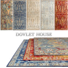 Carpets DOVLET HOUSE 5 pieces (part 43)                                      Free 3D Model