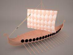 Roman Ship 1 3D Model