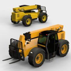 Generic Telehandler 3D Model