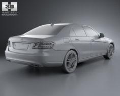Mercedes-Benz E-class (W212) sedan 2014 3D Model