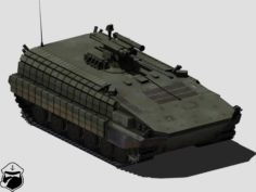 BMP-64 armoured personnel carrier 3D Model