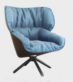 BB Italia Tabano Chair 3D Model