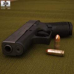 Glock 43 3D Model