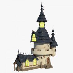 Cartoon House 004 3D Model