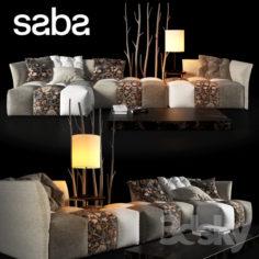 PIXEL Fabric sofa                                      3D Model