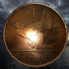 Ireland penny 3D Model